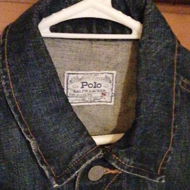 POLO RALPH LAUREN(ポロラルフローレン)のラルフローレン 長袖デニムジャケット Gジャン メキシコ製、USAファブリック メンズのジャケット/アウター(Gジャン/デニムジャケット)の商品写真