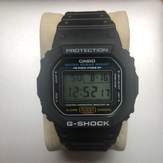 ジーショック(G-SHOCK)のCASIO G-SHOCK DW-5600E-1(腕時計(デジタル))