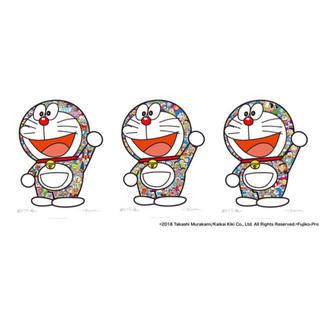 ショウガクカン(小学館)のドラえもん 村上隆 ポスター 3種セット 村上 隆(ポスター)