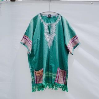 アメリヴィンテージ(Ameri VINTAGE)のVintage Embroidered fringe tunic(チュニック)