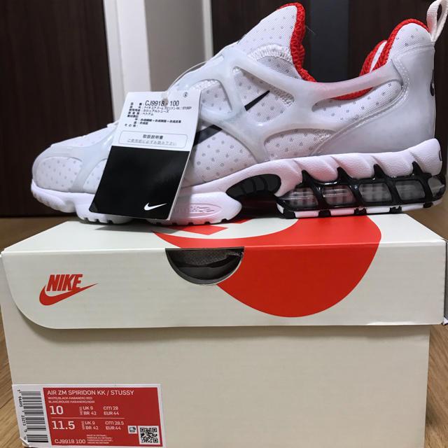 NIKE(ナイキ)のStussy Nike Air Zoom Spiridon Kukini 28 メンズの靴/シューズ(スニーカー)の商品写真