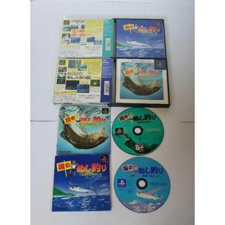PlayStation - ≪レアPSソフト≫海のぬし釣り - 宝島に向かって -&川のぬし釣り
