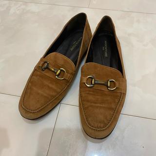 イエナスローブ(IENA SLOBE)のSLOBE IENA (MARION TOUFET) ブラウン ローファー(ローファー/革靴)
