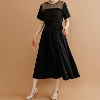 メルロー(merlot)のメルロープリュス ビスチェ風ワンピース(ロングドレス)