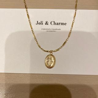 エイミーイストワール(eimy istoire)の大人気 14kgf maria メダイ designchain necklace(ネックレス)