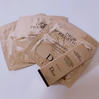 ディオール(Dior)のディオール プレステージ サンプル ラ ムース バームデマキヤント(洗顔料)