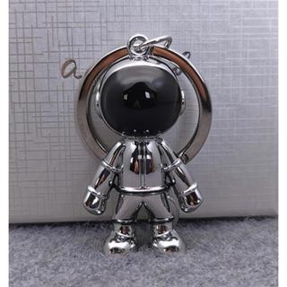 アニエスベー(agnes b.)のアニエスベー ロボットキーホルダー シルバー 新品未使用品(キーホルダー)
