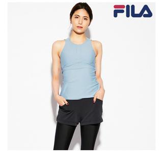 フィラ(FILA)の新品未使用❗️ 【FILA】フィラ ヨガ 吸水速乾 2点セット ボトム Mサイズ(ヨガ)