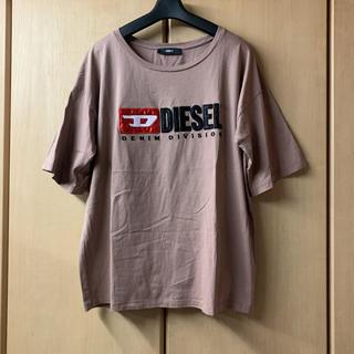 ディーゼル(DIESEL)のDIESEL/チャコールTシャツ/XL(Tシャツ(半袖/袖なし))