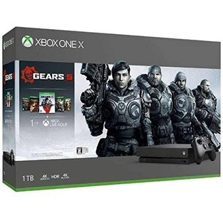 エックスボックス(Xbox)の新品未開封 Xbox One X本体(1TB HDD内蔵) Gear5 同梱版(家庭用ゲーム機本体)