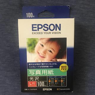 エプソン(EPSON)の【新品】EPSON 写真用紙 光沢 L判 100枚(その他)