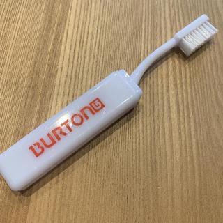 バートン(BURTON)のバートン BURTON 携帯歯ブラシ 非売品 未使用(歯ブラシ/歯みがき用品)