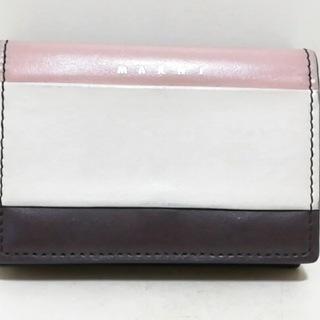 マルニ(Marni)のMARNI(マルニ) 3つ折り財布 - レザー(財布)