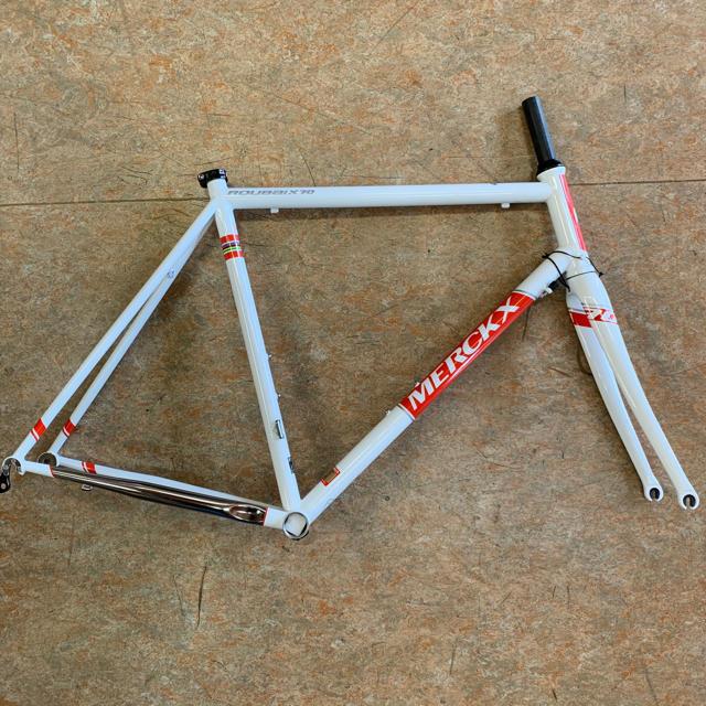 エディメルクス ルーベ70 コロンバスパイプ仕様 ファエマチームカラー550mm スポーツ/アウトドアの自転車(自転車本体)の商品写真