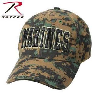 ロスコ(ROTHCO)のRothco ロスコ MARINES CAP ウッドランドデジタル(キャップ)