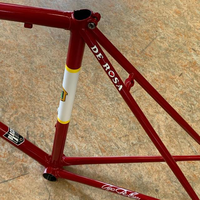 デローザ ネオプリマート クロモリ 53サイズ レッド最適(175~180cm) スポーツ/アウトドアの自転車(自転車本体)の商品写真