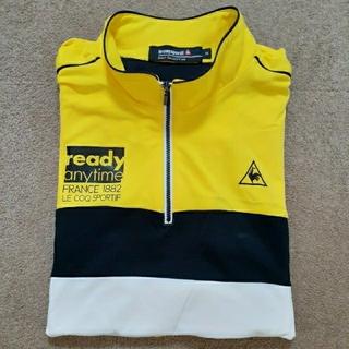 ルコックスポルティフ(le coq sportif)のルコック 黄色ポロシャツ(ウエア)