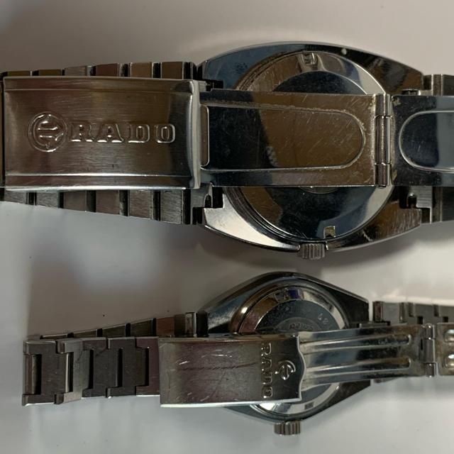 RADO(ラドー)の腕時計 RADOラドー ペアウォッチ(HOLBEIN / BERG)自動巻き メンズの時計(腕時計(アナログ))の商品写真