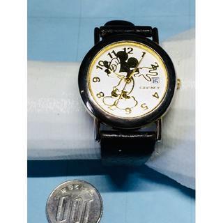 ディズニー(Disney)のV20)お茶目な♡ミッキーマウス・ディト付き(電池交換済み)(腕時計(アナログ))