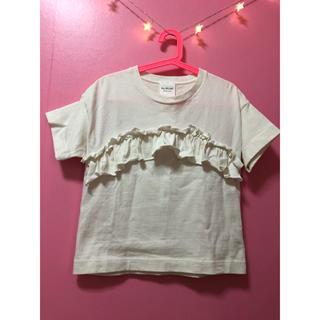 ビームス(BEAMS)のRay Beams フリルTシャツ(Tシャツ(半袖/袖なし))