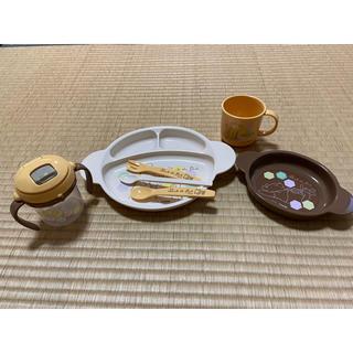 コンビ(combi)のくまのプーさん ベビー食器セット(離乳食器セット)