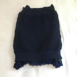 サカイラック(sacai luck)のsacai luck かぎ編みレーススカート(ひざ丈スカート)