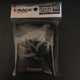 マジックザギャザリング(マジック:ザ・ギャザリング)のmtg ブラックロータス (黒) スリーブ mtg展 black lotus(カードサプライ/アクセサリ)