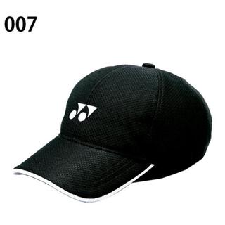 ヨネックス キャップ  帽子 キッズ ジュニア テニス メッシュキャップ 黒(その他)