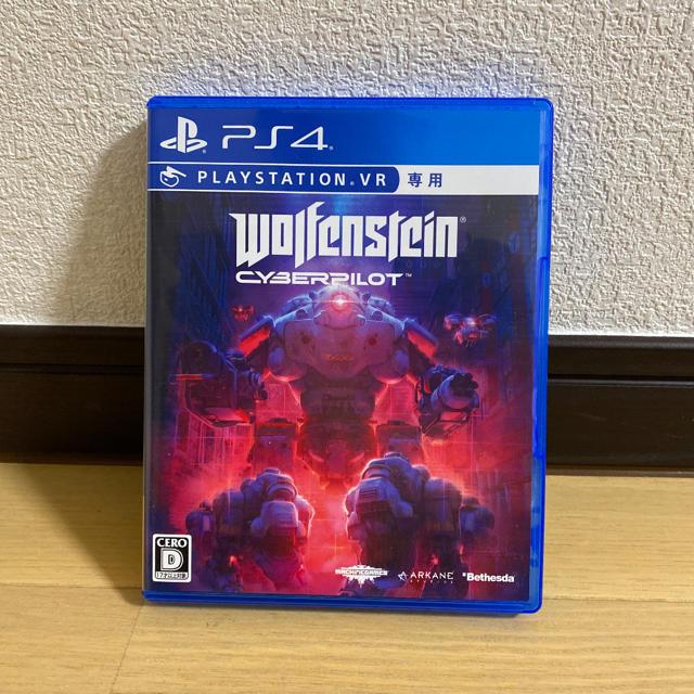 PS4 ウルフェンシュタイン サイバーパイロット エンタメ/ホビーのゲームソフト/ゲーム機本体(家庭用ゲームソフト)の商品写真