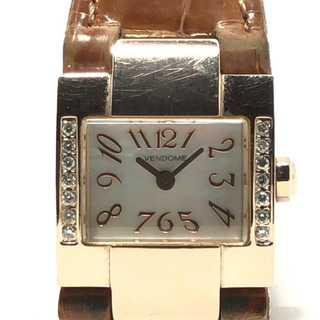 ヴァンドームアオヤマ(Vendome Aoyama)のヴァンドーム青山 腕時計 レディース(腕時計)