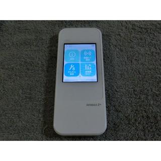 エーユー(au)のau モバイルルーターW04  WiMAX2 ダウングレード simフリー 2(PC周辺機器)