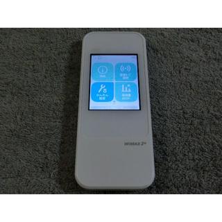エーユー(au)のau モバイルルーターW04  WiMAX2 ダウングレード simフリー 3(PC周辺機器)