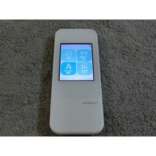エーユー(au)のau モバイルルーターW04  WiMAX2 ダウングレード simフリー 10(PC周辺機器)