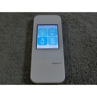 エーユー(au)のau モバイルルーターW04  WiMAX2 ダウングレード simフリー 11(PC周辺機器)