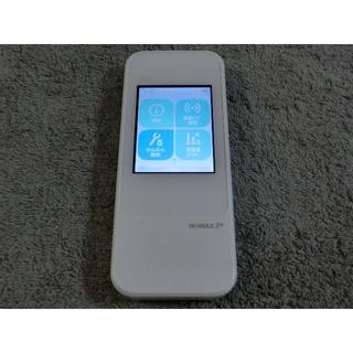 エーユー(au)のau モバイルルーターW04  WiMAX2 ダウングレード simフリー 12(PC周辺機器)
