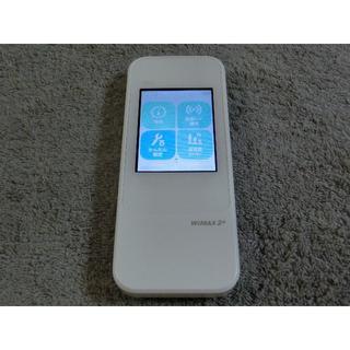エーユー(au)のau モバイルルーターW04  WiMAX2 ダウングレード simフリー 13(PC周辺機器)