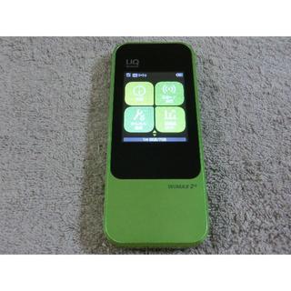 エーユー(au)のUQ モバイルルーターW04  WiMAX2 ダウングレード simフリー 2(PC周辺機器)