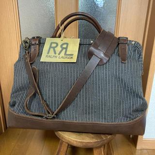 ダブルアールエル(RRL)のRRL ダブルアール ドクターバッグ 臨時お値下げ 珍品 超美品(ボストンバッグ)