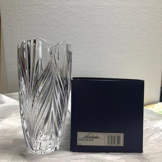 ノリタケ(Noritake)のノリタケクリスタル花瓶(花瓶)