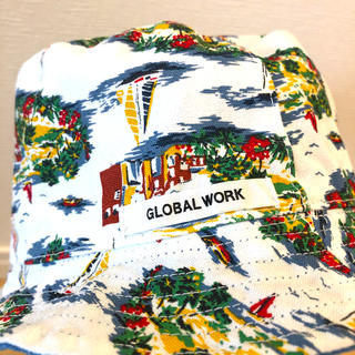 グローバルワーク(GLOBAL WORK)の『グローバルワーク』キッズ☆帽子リバーシブル☆(帽子)
