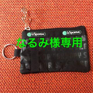 レスポートサック(LeSportsac)の★美品★ LeSportsac×SNOOPY パスケース(パスケース/IDカードホルダー)