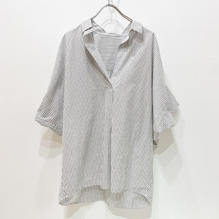 プラージュ(Plage)のPlage【抜け襟オーバーシャツ】(シャツ/ブラウス(半袖/袖なし))