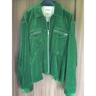 ディスカバード(DISCOVERED)のdiscovered コーデュロイシャツジャケット(ブルゾン)