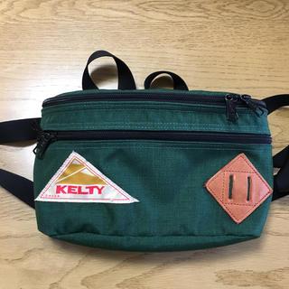 ケルティ(KELTY)のKELTY BEAMS ウエストポーチ 緑(ボディバッグ/ウエストポーチ)