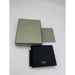 トムフォード(TOM FORD)のTOMFORD マネークリップ付き カードケース 日本未発売 新品 即配送(マネークリップ)