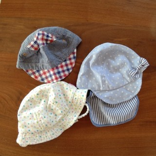 ベビー帽子 三個セット(帽子)
