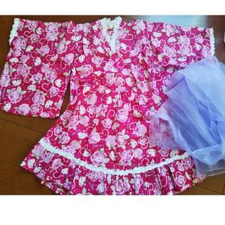 サンリオ(サンリオ)の浴衣ドレス120(甚平/浴衣)