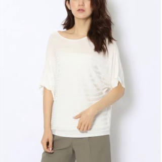 デプレ(DES PRES)のDESPRES カットソー Tシャツ 半袖 白 トゥモローランド(Tシャツ/カットソー(半袖/袖なし))