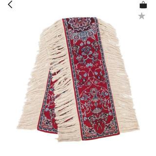 マルタンマルジェラ(Maison Martin Margiela)のY PROJECT 19aw 絨毯柄ストール(ストール)
