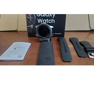 ギャラクシー(Galaxy)のyyyさん専売 Galaxy Watch 46mm シルバー(腕時計(デジタル))